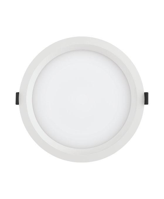 Ledvance LED Downlight Aluminum DN200 25W 840 IP44 | Replaces 2x26W