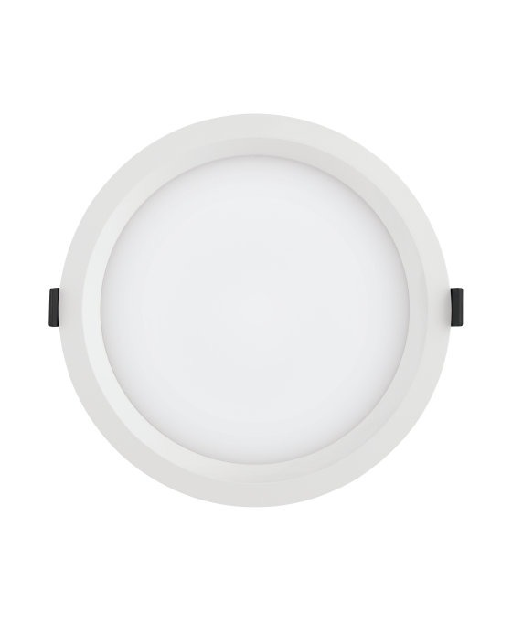 Ledvance LED Downlight Aluminum DN200 35W 840 IP44 | Dali Dimmable - Replaces 2x42W
