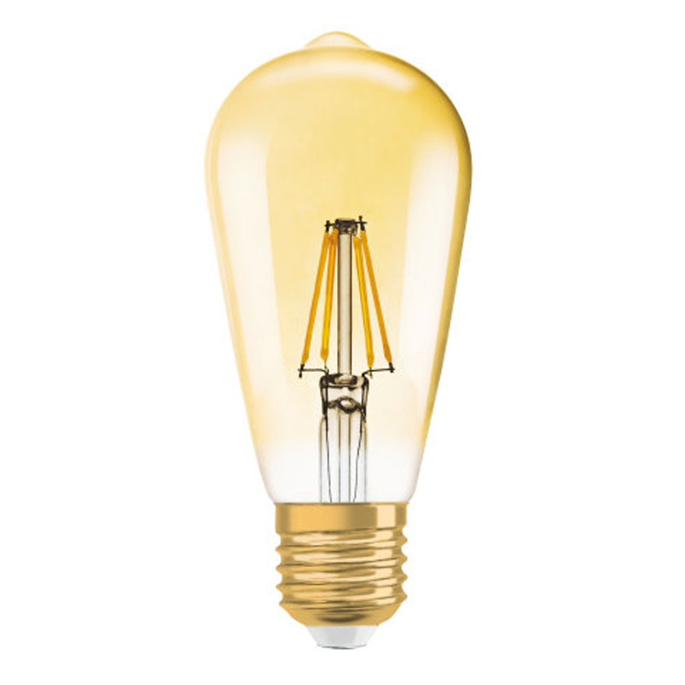 Osram Vintage 1906 LED E27 Edison 4W 825 Gold | Replaces 35W
