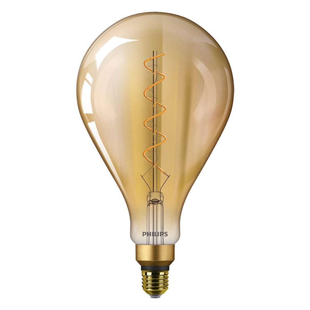 Philips Classic LEDbulb Vintage E27 A160 5W 820 Gold | Replaces 25W