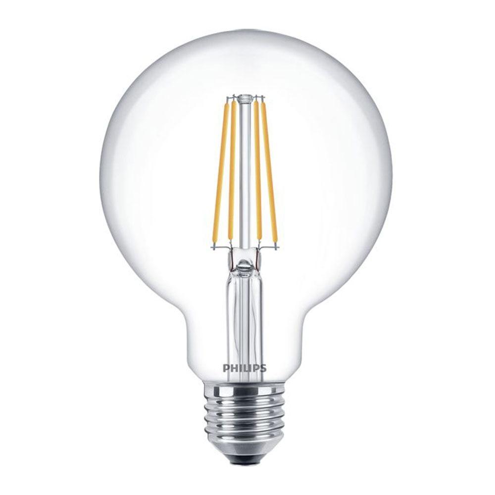 Philips Classic LEDglobe E27 G93 7W 827 Clear | Replaces 60W