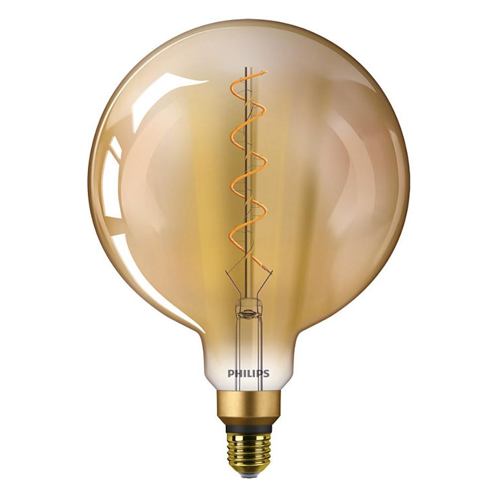 Philips Classic LEDglobe Vintage E27 G200 5W 820 Gold   Replaces 25W