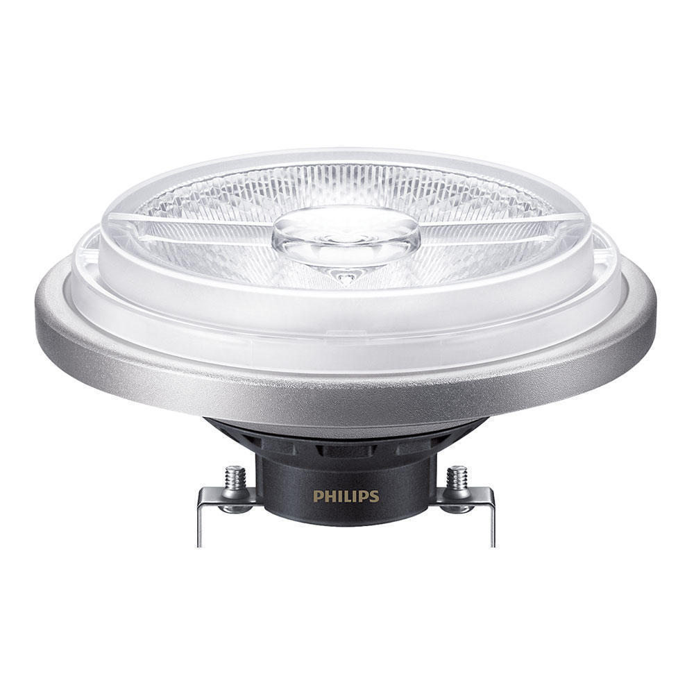 Philips LEDspot LV G53 AR111 12V 20W 830 40D MASTER | Dimmable - Replaces 100W