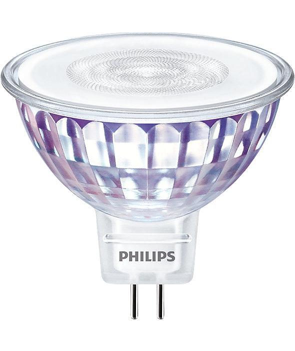 Philips LEDspot VLE GU5.3 MR16 7W 827 60D MASTER | Dimmable - Replaces 50W